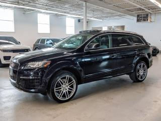 Used 2015 Audi Q7 SPORT/7PASS/VENTILATED SEATS/SHADES/BLIND SPOT! for sale in Toronto, ON