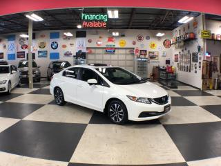 Used 2015 Honda Civic Sedan EX A/C SUNROOF BACKUP CAMERA BLUETOOTH 66K for sale in North York, ON