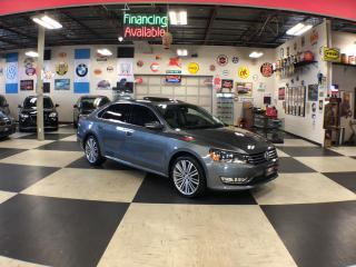 Used 2015 Volkswagen Passat 1.8TSI COMFORTLINE  2TONE LEATHER SUNROOF CAMERA for sale in North York, ON