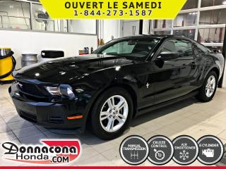 Used 2011 Ford Mustang Coupé V6*CRUISE, AIR, MAGS* for sale in Donnacona, QC