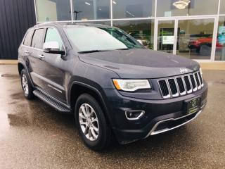 Used 2016 Jeep Grand Cherokee Limited, Heated and Vented Leather Seats for sale in Ingersoll, ON