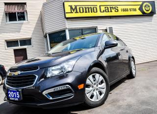 Used 2015 Chevrolet Cruze LT | BACK UP CAM | BLUETOOTH | $109 BI-WEEKLY | for sale in St. Catharines, ON