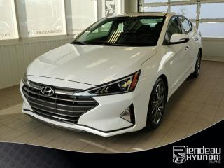 Used 2019 Hyundai Elantra Luxury + CUIR + TOIT OUVRANT + MAGS for sale in Ste-Julie, QC