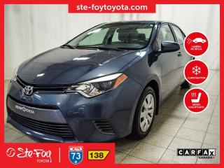 Used 2016 Toyota Corolla LE Sièges chauffants, Caméra recul for sale in Québec, QC