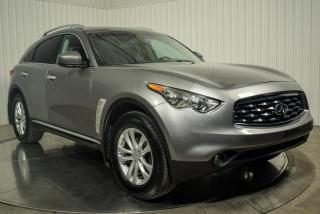 Used 2011 Infiniti FX35 FX35 AWD CUIR TOIT  MAGS CAMERA DE RECUL for sale in St-Hubert, QC