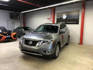 Used 2015 Nissan Pathfinder SL, AWD, GPS, TOIT OUVRANT, 7 PLACES, A for sale in Montréal, QC