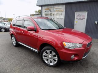 Used 2013 Mitsubishi Outlander ***XLS,4X4,7 PASSAGERS,CUIR,TOIT,MAGS*** for sale in Longueuil, QC
