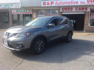 Used 2016 Nissan Rogue SL for sale in Brampton, ON