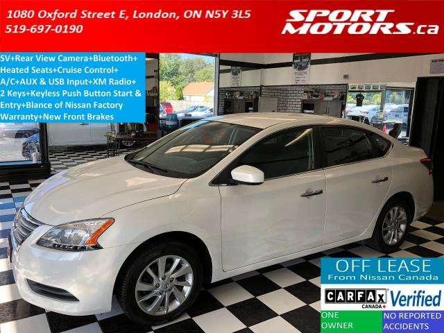 2015 Nissan Sentra SV+Camera+Heated Seats+Bluetooth+XM+A/C+Cruise