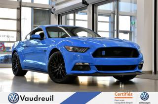 Used 2017 Ford Mustang GT * PERFO PACK * RECARO *** Réservé *** for sale in Vaudreuil-Dorion, QC