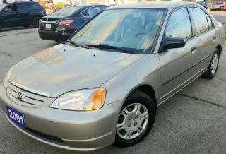 Used 2001 Honda Civic DX-G for sale in Hamilton, ON