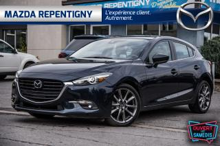 Used 2018 Mazda MAZDA3 Sport GT Auto Tech Cuir Toit for sale in Repentigny, QC