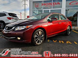 Used 2014 Honda Civic EX 4 portes boîte manuelle for sale in Sorel-Tracy, QC
