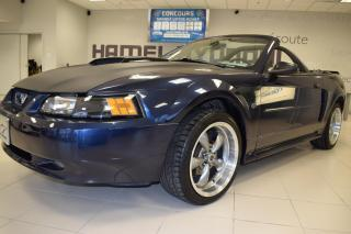 Used 2002 Ford Mustang Convertible GT for sale in St-Eustache, QC