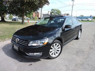 Used 2014 Volkswagen Passat Navi/Leather/Sunroof/RevCamera/RemoteStart for sale in BRAMPTON, ON