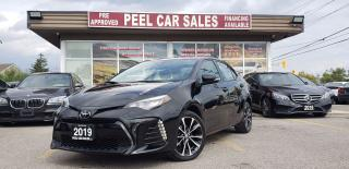 Used 2019 Toyota Corolla SE|SUNROOF|LEATHER|REARVIEW|CERTIFIED & MORE! for sale in Mississauga, ON