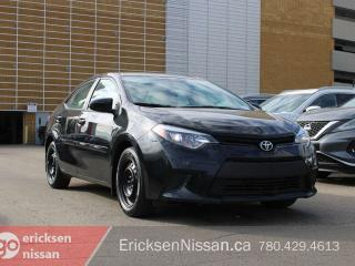 Used 2014 Toyota Corolla LE l Pwr Options l Low km! for sale in Edmonton, AB