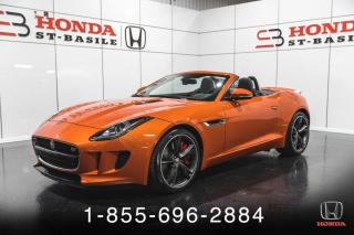 Used 2015 Jaguar F-Type F-TYPE S DECAPOTABLE **PRIX DE FIN DE SA for sale in St-Basile-le-Grand, QC