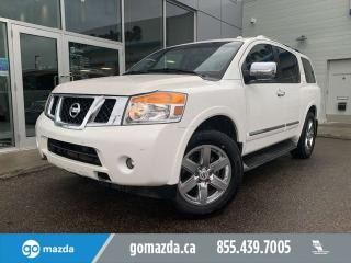 Used 2011 Nissan Armada Platinum AWD LEATHER SUNROOF NAV for sale in Edmonton, AB