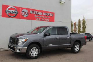 New 2019 Nissan Titan SV/4X4/CREW CAB/NAV/HEATED SEATS for sale in Edmonton, AB