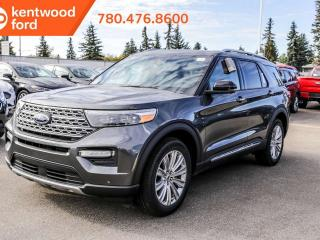 New 2020 Ford Explorer LIMITED 300A, 4WD, 2.3L Ecoboost, Hand Free Liftgate with Foot Activation, Power Heated/Cooled Seats, Heated Steering Wheel, Lane Keeping System, Reverse Camera System, Navigation, Moonroof for sale in Edmonton, AB