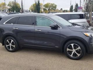 Used 2016 Kia Sorento EX+ 7PASS, BLUETOOTH, BACKUP CAM, HEATED SEATS, SUNROOF AND MORE for sale in Edmonton, AB