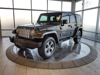 Used 2016 Jeep Wrangler Unlimited Unlimited Sahara for sale in Edmonton, AB