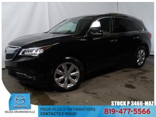 Used 2016 Acura MDX |ELITE|SH-AWD|DVD|GPS|TOITOUV|CUIR| for sale in Drummondville, QC