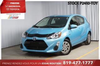 Used 2016 Toyota Prius c GROUPE AMÉLIORÉ  RÉGULATEUR VITESSE+CAMERA RECUL* for sale in Drummondville, QC
