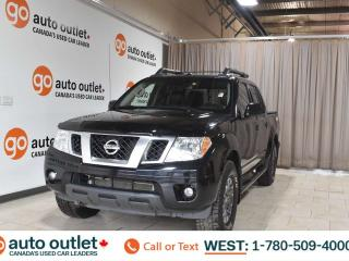 Used 2018 Nissan Frontier Pro-4x, 4.0L V6, 4x4, Crew cab, Sunroof, Navigation, Leather heated seats, Backup camera, for sale in Edmonton, AB