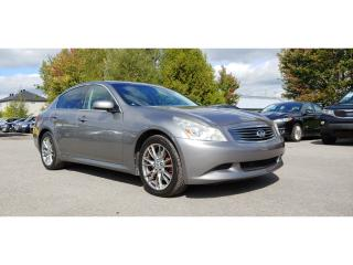 Used 2008 Infiniti G35X XS *CUIR*TOIT*BT* for sale in St-Jérôme, QC