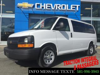 Used 2014 GMC Savana CARGO AWD TRACTION INTEGRAL, 8 PASSAGERS for sale in Ste-Marie, QC