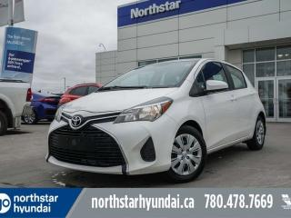Used 2015 Toyota Yaris LE AUTO/POWEROPTIONS/LOWKMS for sale in Edmonton, AB