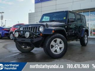 Used 2010 Jeep Wrangler Unlimited SAHARA//UNLIMITED/AUTO for sale in Edmonton, AB
