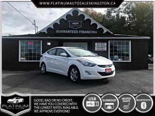 Used 2013 Hyundai Elantra GLS for sale in Kingston, ON
