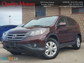 Used 2014 Honda CR-V EX-L for sale in Etobicoke, ON