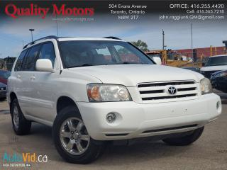 Used 2007 Toyota Highlander CLOTH for sale in Etobicoke, ON