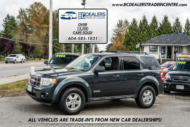 2008 Ford Escape XLS, Local, No Accidents, 4-Cylinder, Super Clean!