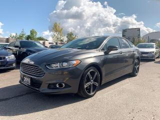 Used 2015 Ford Fusion Titanium AWD / NAVI/ REAR CAM/ SUNROOF for sale in Brampton, ON