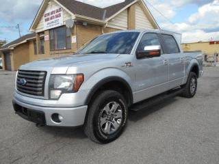 Used 2011 Ford F-150 FX4 Crew Cab 4X4 3.5L Eco Boost Leather Sunroof for sale in Rexdale, ON
