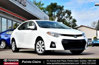 Used 2015 Toyota Corolla ***RÉSERVÉ***S PKG for sale in Pointe-Claire, QC