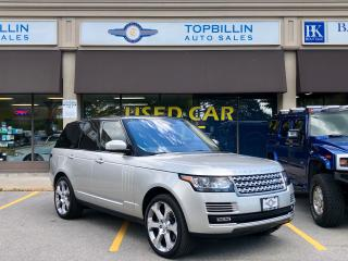Used 2016 Land Rover Range Rover Supercharged, Auto Pilot Park for sale in Vaughan, ON