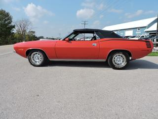 Used 1970 Plymouth Barracuda Convertible. Hemi Cuda for sale in Gorrie, ON