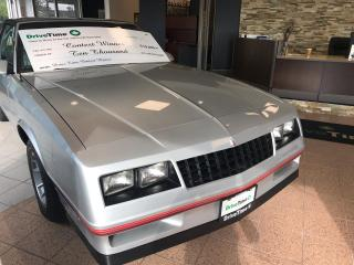 Used 1987 Chevrolet Monte Carlo SS for sale in London, ON