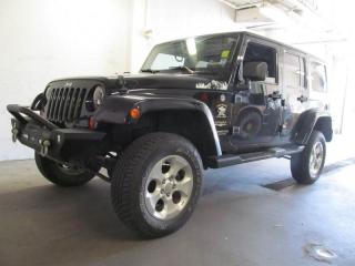 Used 2013 Jeep Wrangler Unlimited Sahara w/Dual Tops, Automatic and Air Conditioning! for sale in Dartmouth, NS