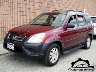 Used 2006 Honda CR-V SE AWD || CERTIFIED || for sale in Waterloo, ON