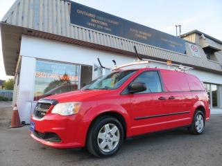 Used 2012 Dodge Grand Caravan SUPER LOW KM RAM, LADDER RACKS,CARGO,SHELVES,DIVID for sale in Mississauga, ON