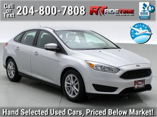 Used 2018 Ford Focus SE for sale in Winnipeg, MB