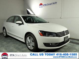 Used 2012 Volkswagen Passat TDI DSG Comfortline Sunroof Leather BT Certified for sale in Toronto, ON