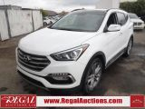 Photo of White 2017 Hyundai Santa Fe